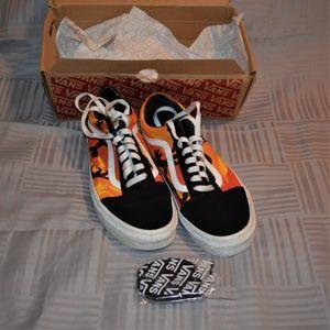 Vans Old Skool Pop Camo in box